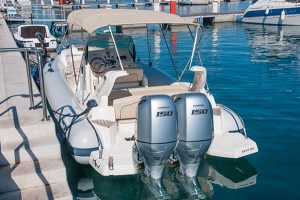 Luxurious speed boats for rent in Mali Losinj